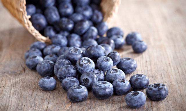 Borovnice - flavonoidi